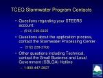 tceq stormwater program contacts1