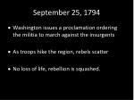 september 25 1794