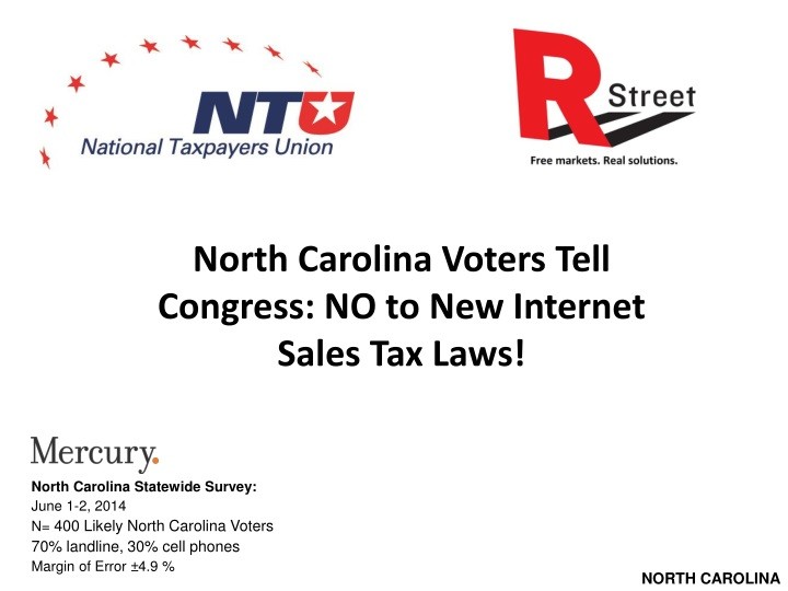 north carolina voters tell congress n.