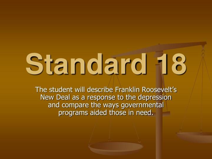 standard 18 n.