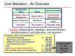 cost allocation an overview1