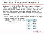 example 1b activity based depreciation