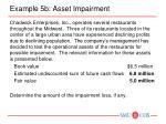 example 5b asset impairment