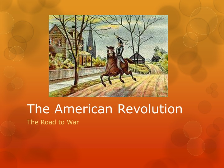 The a merican revolution