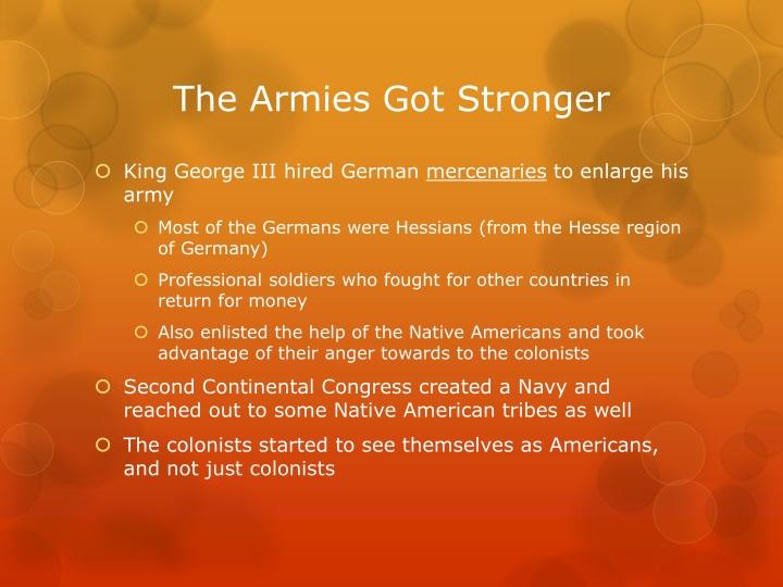 The Armies Got