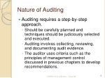 nature of auditing 1