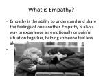 what is empathy