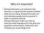 why is it important