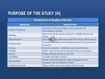 purpose of the study iii