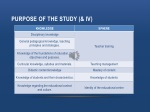 purpose of the study iv