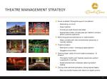 theatre management strategy