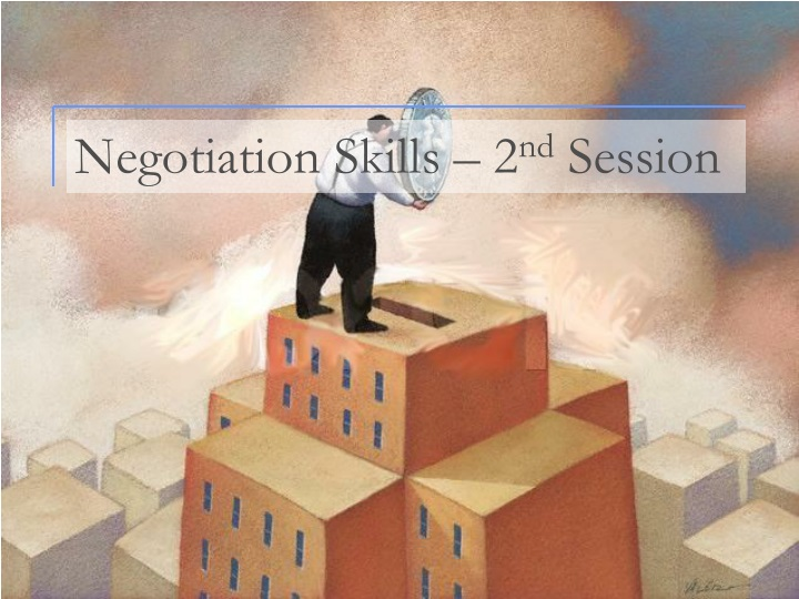negotiation skills assignment Successful negotiation: essential strategies and skills from university of michigan we all negotiate on a daily basis on a personal level, we negotiate with friends, family, landlords, car sellers and employers, among others.