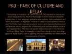 pko park of culture and relax