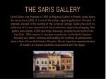 the saris gallery