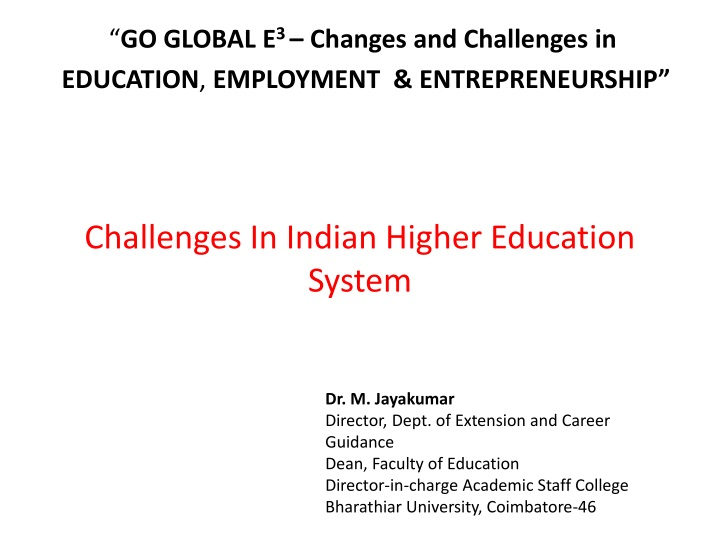 change in education system india essay