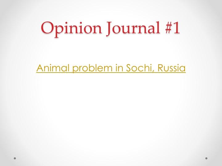 opinion journal 1 n.