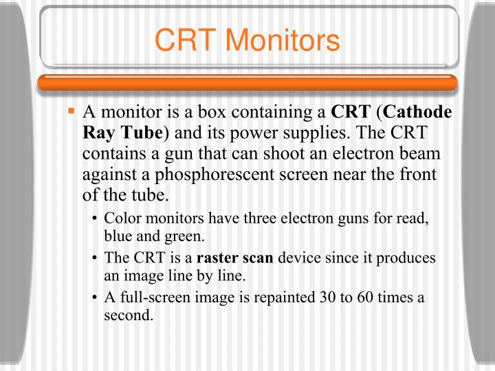 CRT Monitors