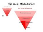 the social media funnel