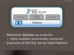 relational database as a service highly available