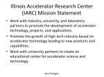 illinois accelerator research center iarc mission statement