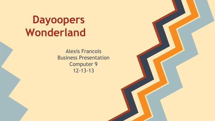 dayoopers wonderland n.