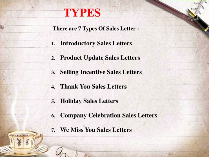 Ppt Sales Letter Powerpoint Presentation Id 1514228