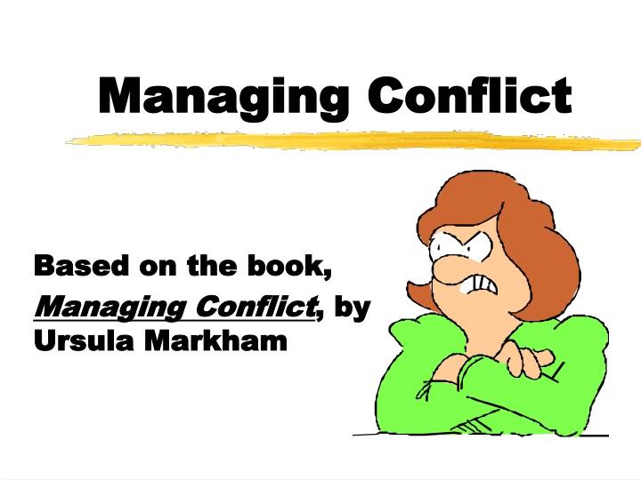 managing conflict n.