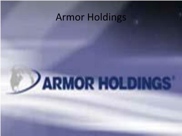 Armor Holdings