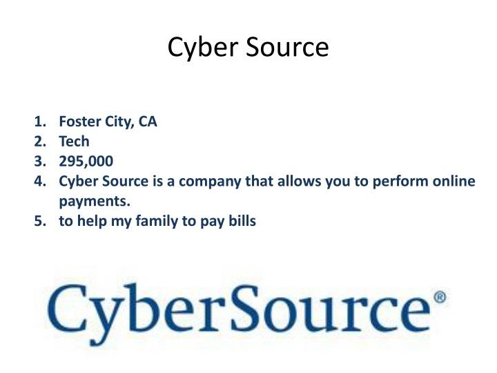 Cyber Source