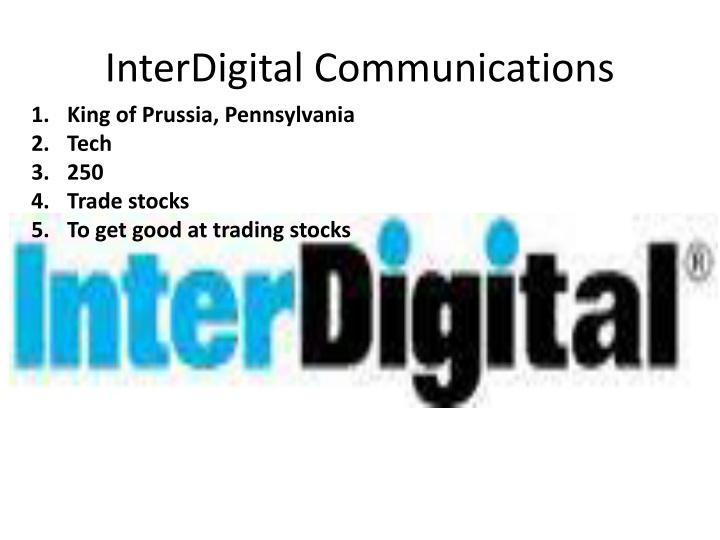 InterDigital Communications