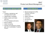 b547 product and brand management