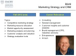 b649 marketing strategy and crm