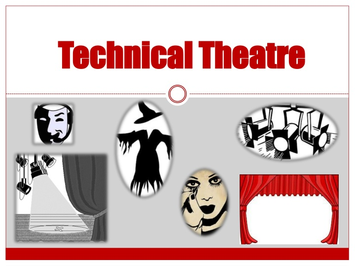technical theatre n.