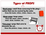 types of props