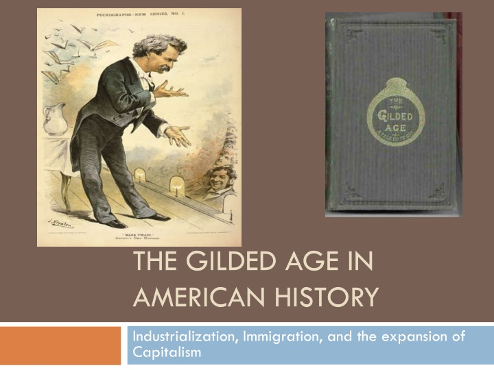 the gilded age in american history n.