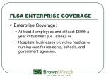 flsa enterprise coverage