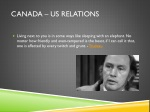 canada us relations