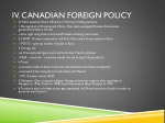 iv canadian foreign policy