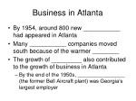 business in atlanta