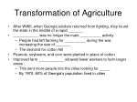 transformation of agriculture