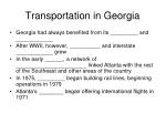 transportation in georgia