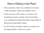 history of banking in india phase i