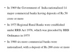in 1969 the government of india nationalised