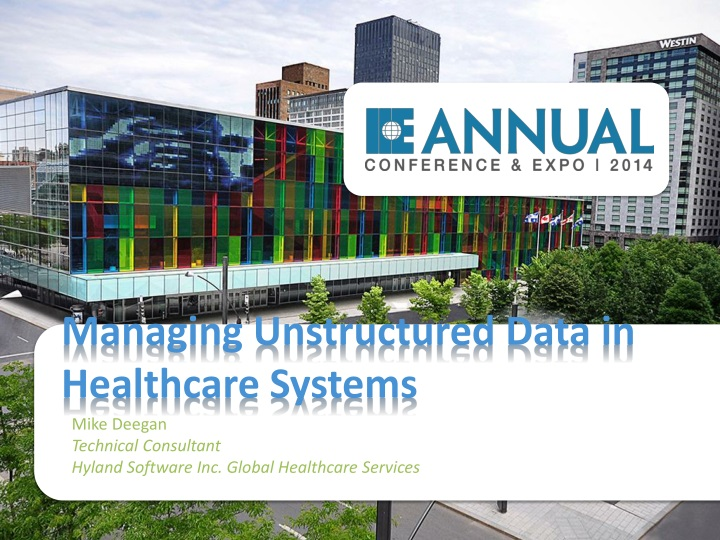 managing unstructured data in healthcare systems n.