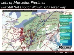 lots of marcellus pipelines but still not enough natural gas takeaway