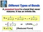 different types of bonds