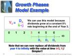 growth phases model example3