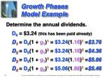 growth phases model example5