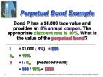 perpetual bond example
