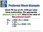 preferred stock example
